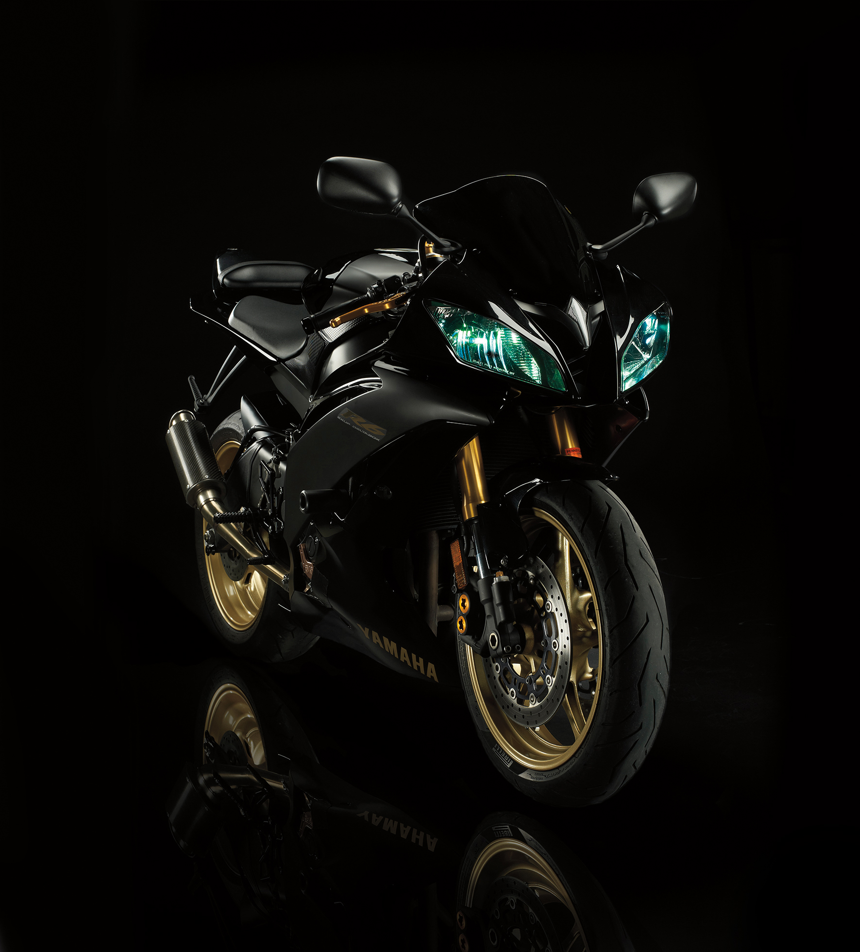 Photography - Motorcycle In Dark Room