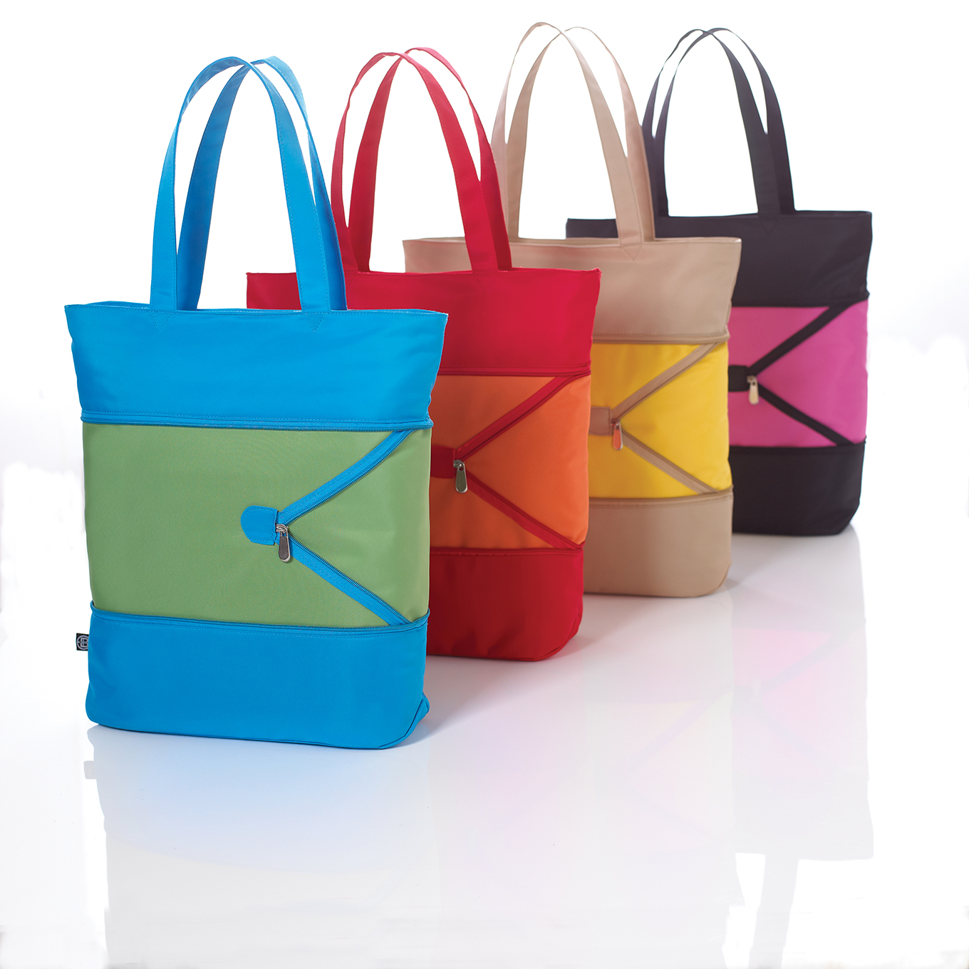 Photography - Four Colour Tote Bags