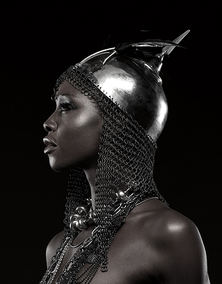 Photography - Portrait of Female Warrior