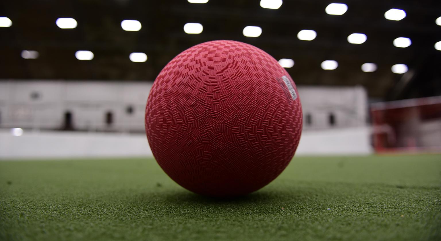 Dodgeball on turf